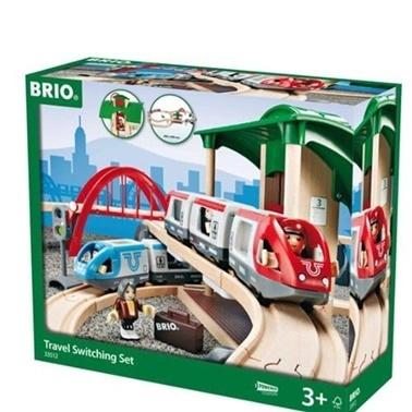 Brio  Katlı Seyahat Seti ABR33512 Renkli